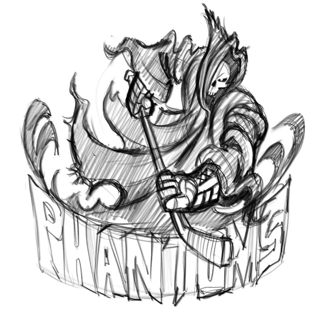 #phantom #mascot redux #logo @wacom #cintiq and
