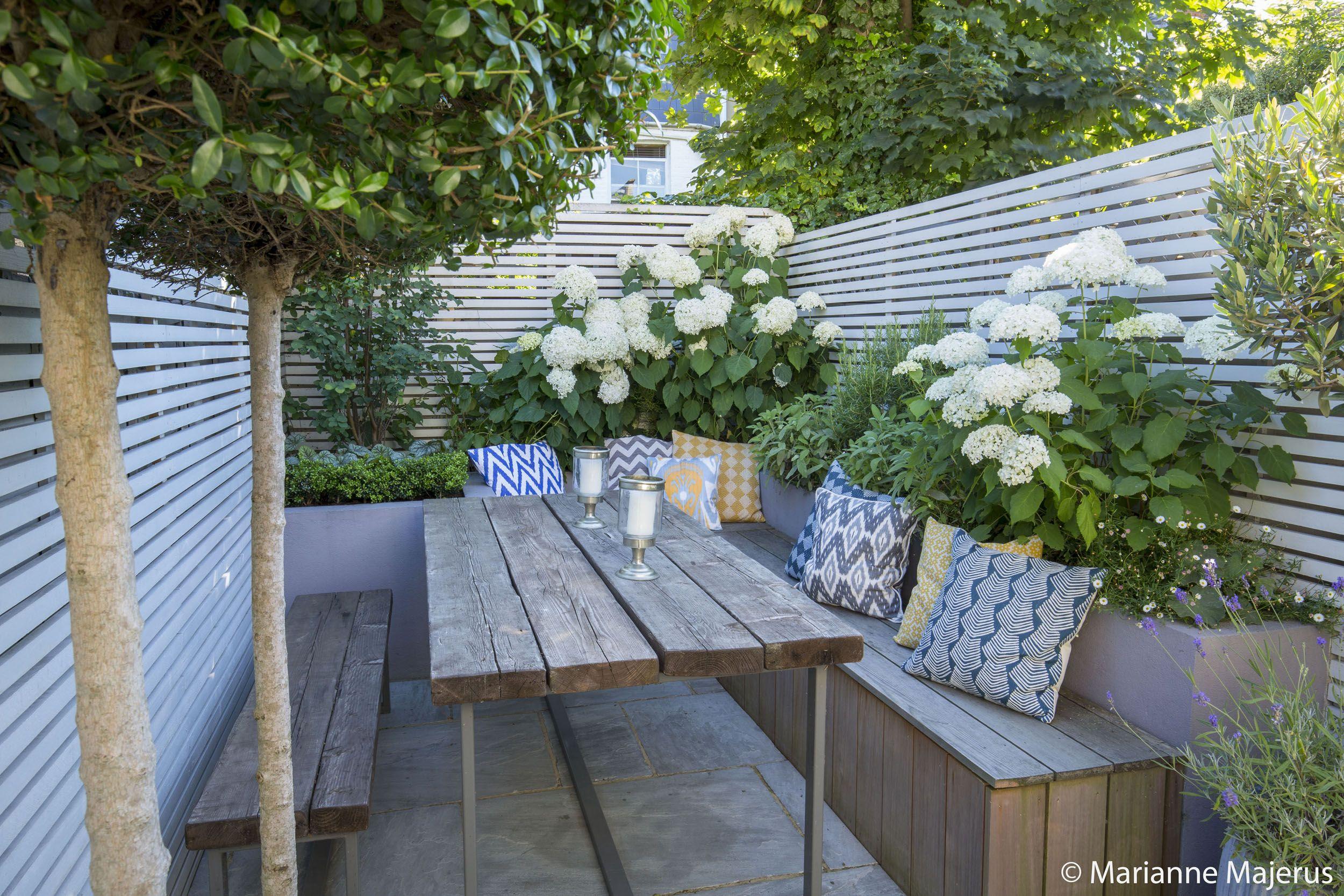 Fulham Slim Subtle Garden Design London Gardening Design