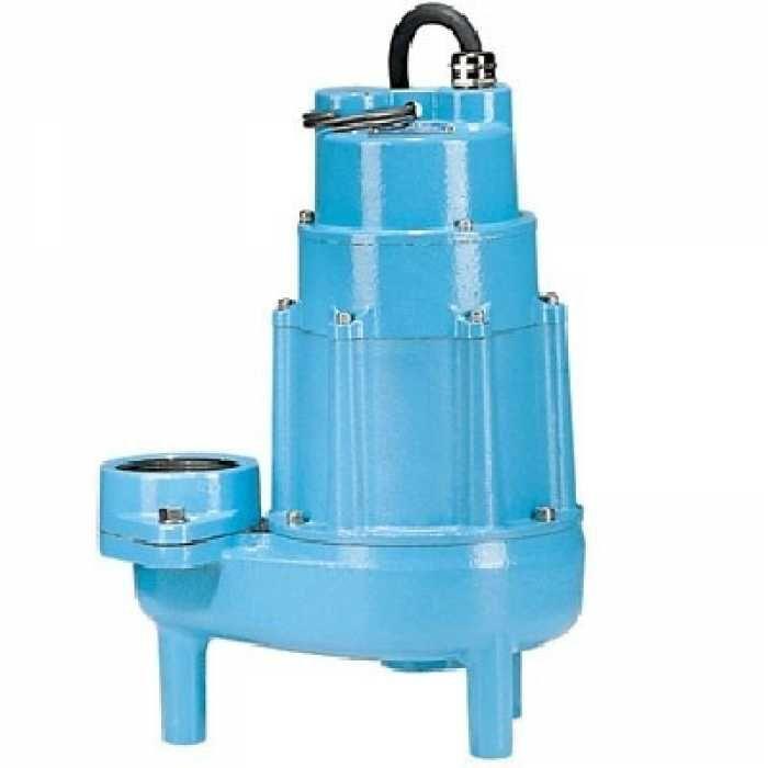 Little Giant 520150 3 Fnpt Discharge 2 Solids Manual Heavy Duty Sewage Pump 20 Cord 208v 240v Sewage Pump