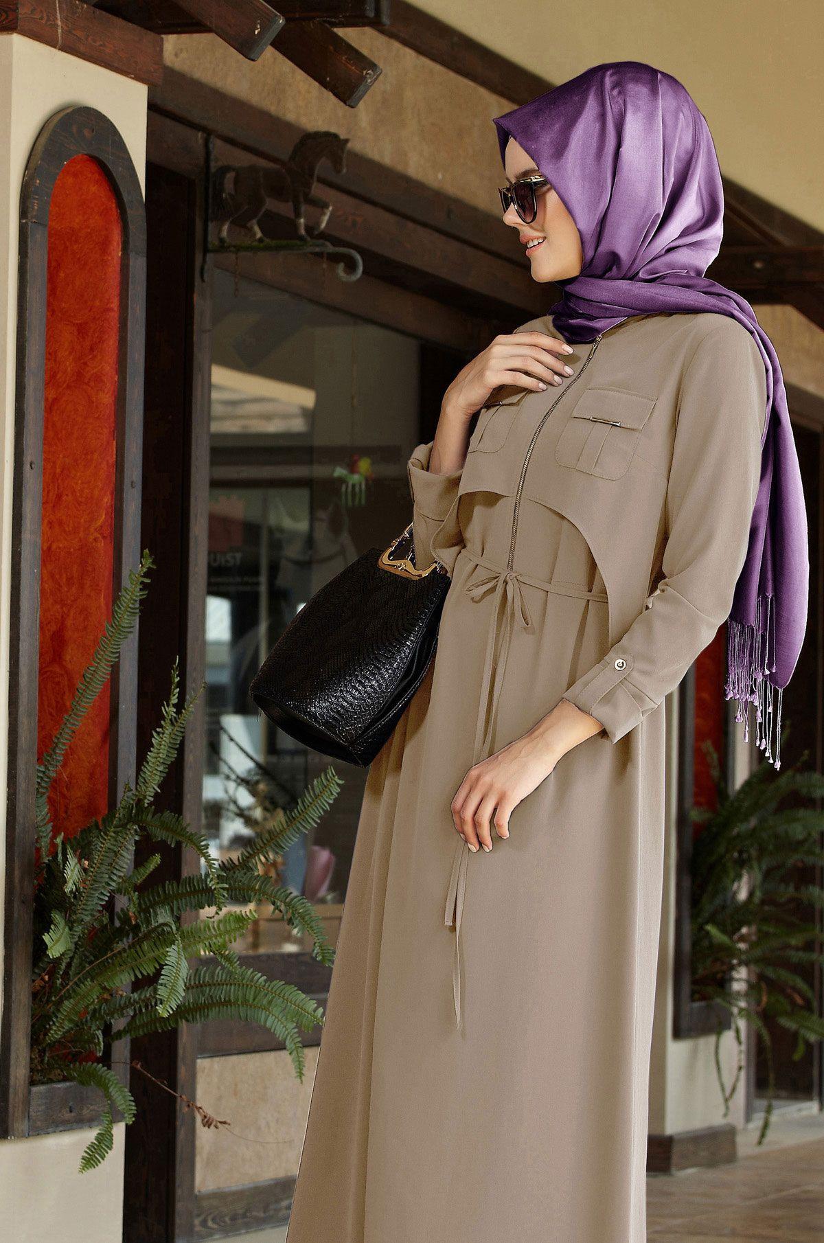 Tesettur Giyim Esarp Kaban Kap Etek Ceket Tunik Pantalon Elbise Manto Pardesu Giyim Kiyafet Elbise