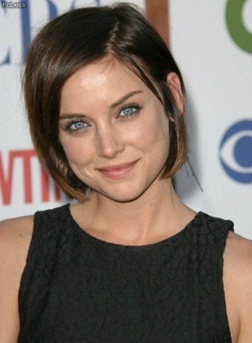 Actresses Hairstyles Hollywood Actress Jessica Stroup Short Hairstyles Short Hair Styles Hair Styles Short Brown Hair