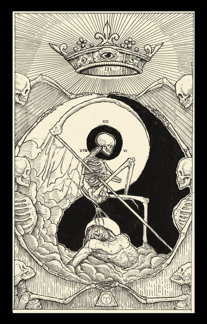 Death ( Tarot Card ) by erikemiranda
