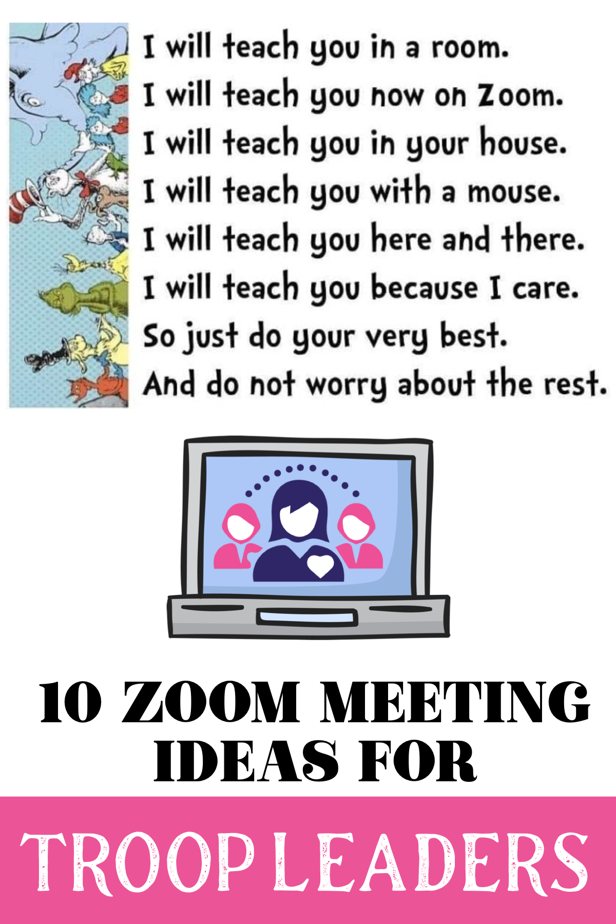 10 Great Ideas To Make Virtual Meetings Successful And Keep Your Troop Active And Engaged Leader Connecting Leaders In 2020 Girl Scout Activities Girl Scout Brownies Meetings Girl Scout Gifts