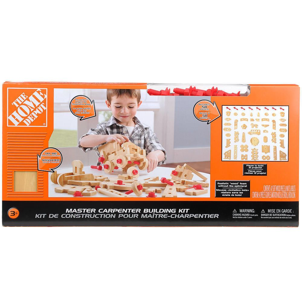 Home Depot Big Builder's Project Kit Project kits, Home