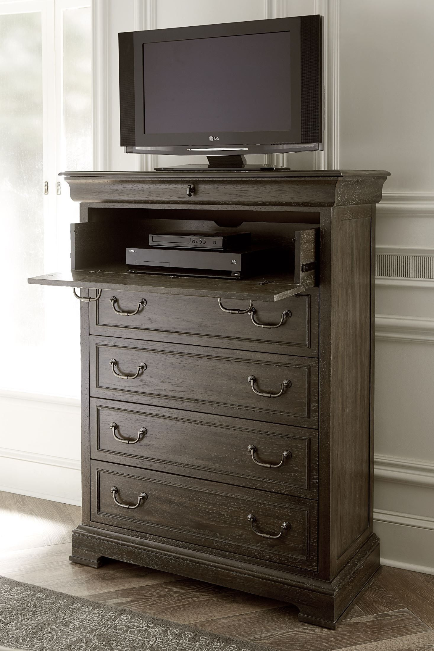 St. Germain Drawer Chest Dresser with tv, Purchase
