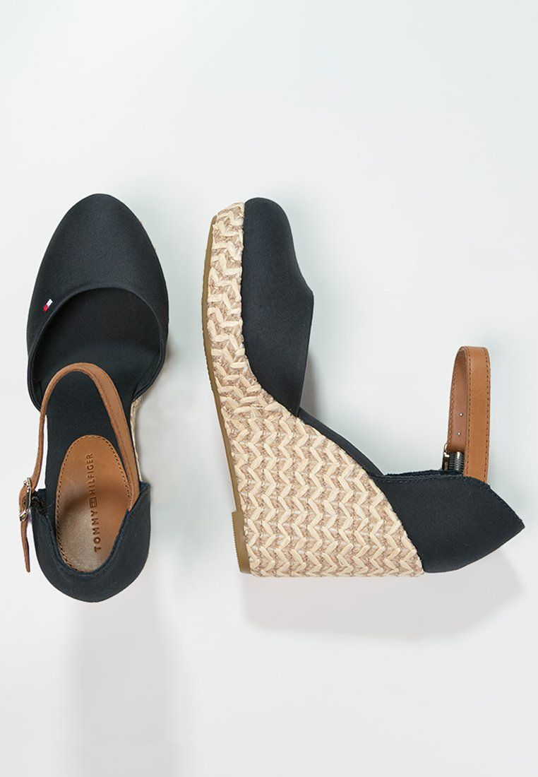 393cf00dc717 Tommy Hilfiger EMMA espadrilles with wedge heels
