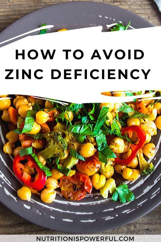 How to avoid zinc deficiency + list of zincrich foods in 2020