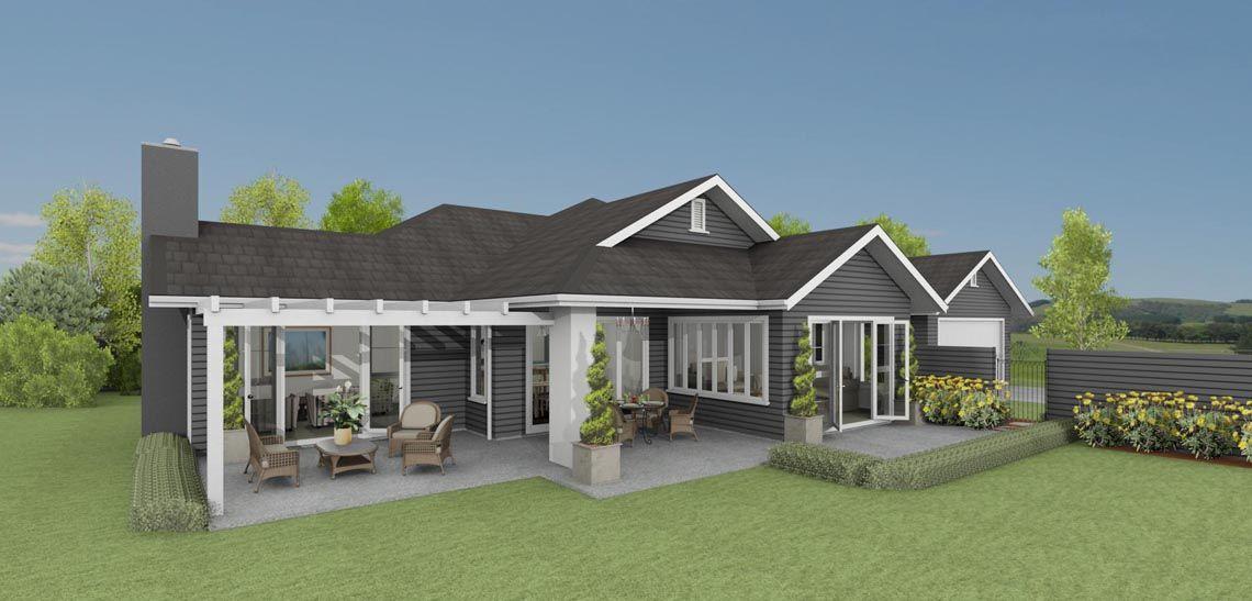 karapiro 4 bedroom house design landmark homes builders nz - House Plans Landmark Homes New Zealand