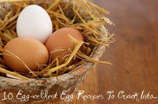 10 Delicious things you can do with eggs!