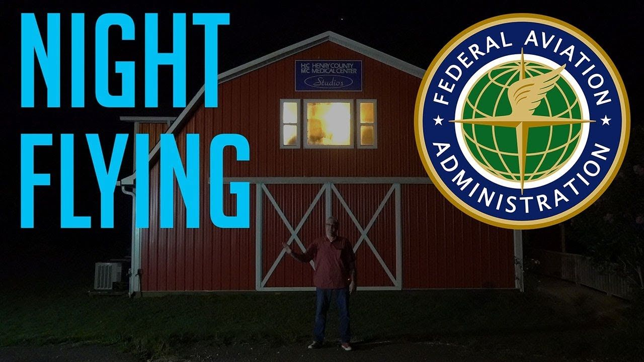 How to fly a drone at night faa rules ken heron