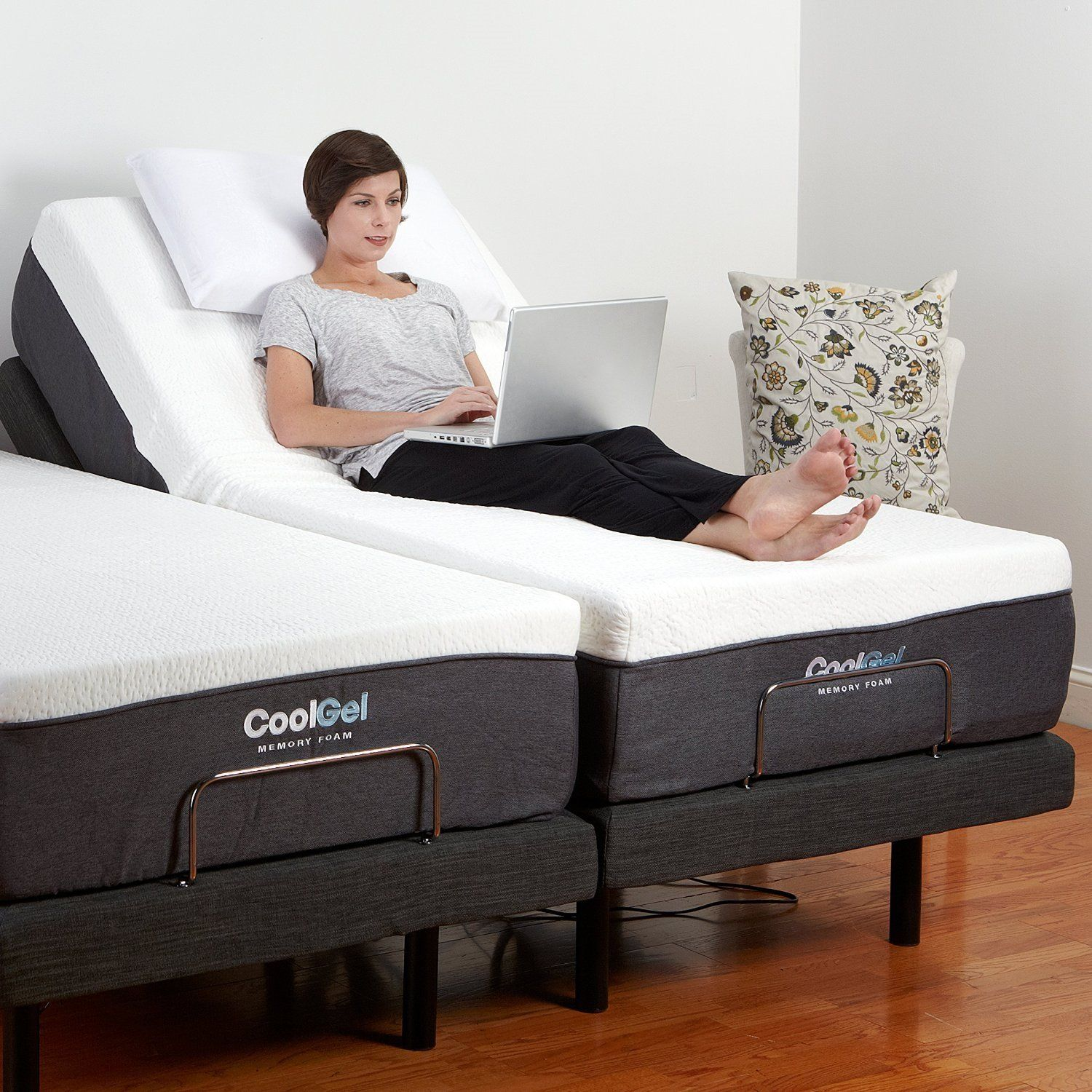 This Queen size Adjustable Bed Base with Massage and