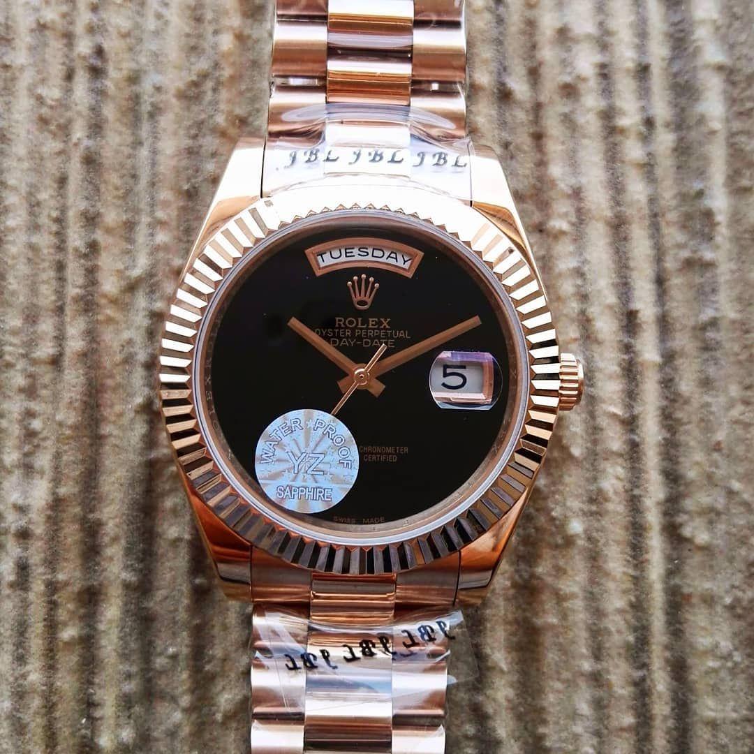 Rolex Day Date Water Proof Yz Sapphire Saat Bay Automatic Makina Birinci Kalite Rolex Day Date Rolex Oyster Perpetual Rolex