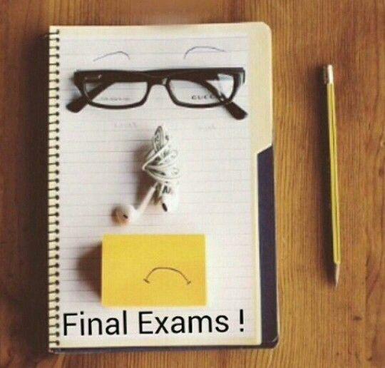 Final Exam Exam Study Motivation Final Exams
