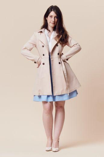 Trench Luzerne - Deer&Doe | Outerwear Jackets & Coats | Pinterest
