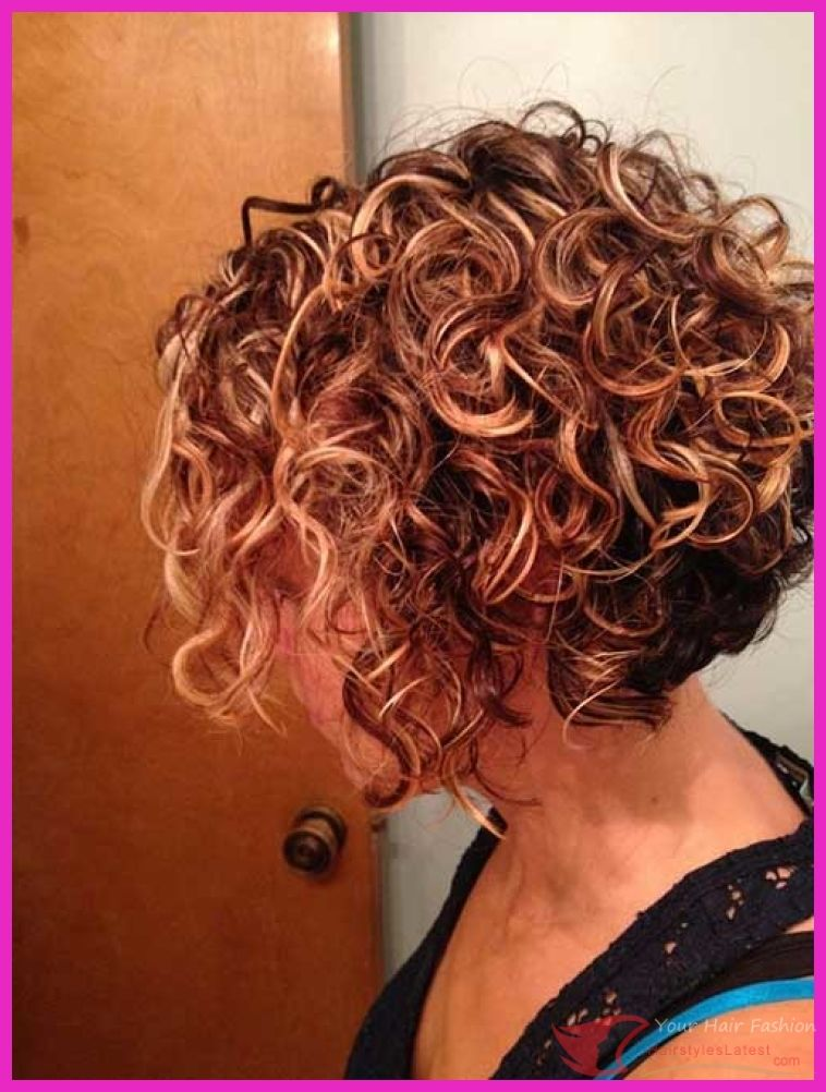 Trend Hairstylel 19 New Curly Perms For Hair Thin Hair Typically A Bit Tedious And Ladies Are Beco Short Permed Hair Bob Haircut Curly Haircuts For Curly Hair