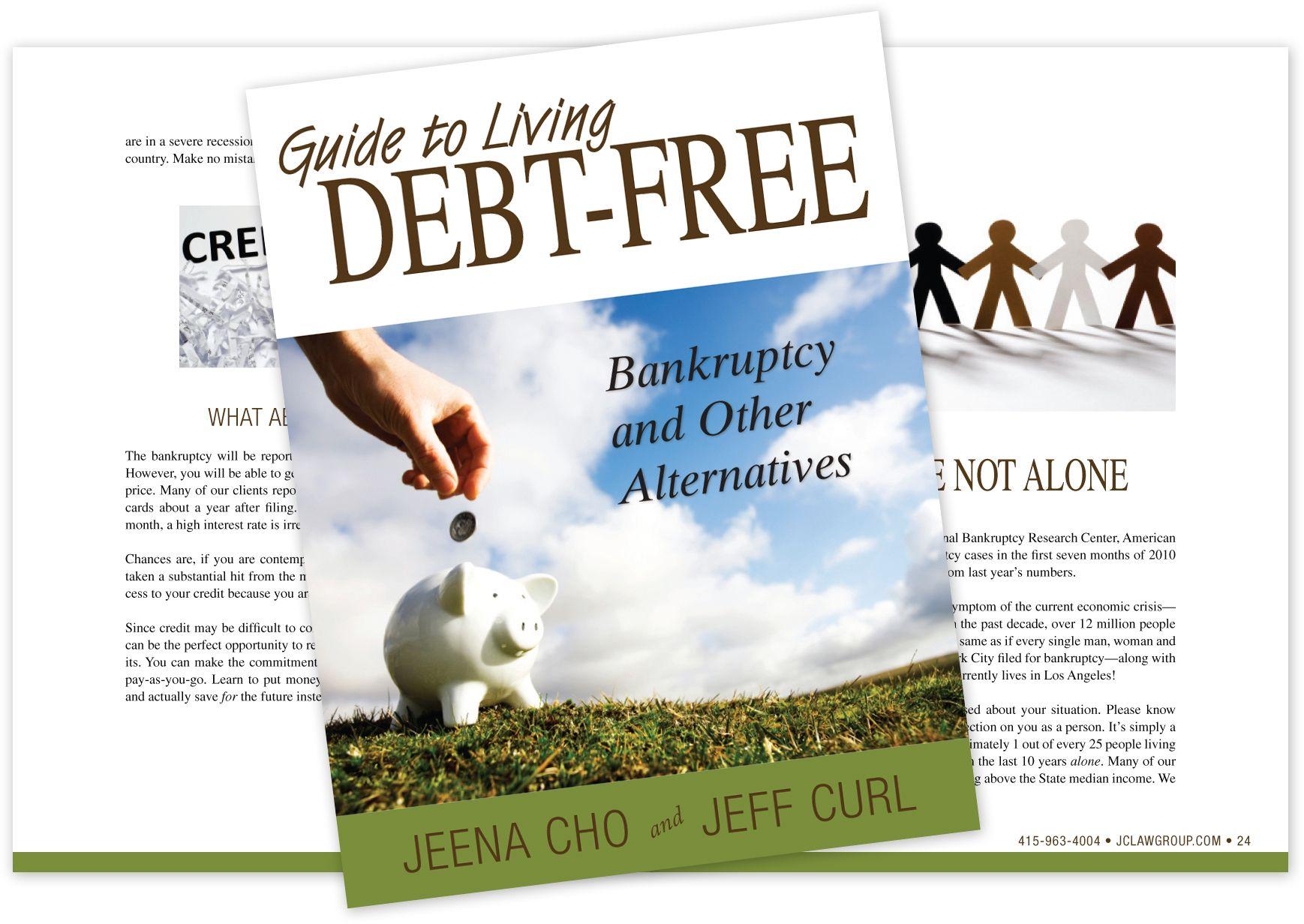 Download our books Credit cards debt, Debt free, Debt