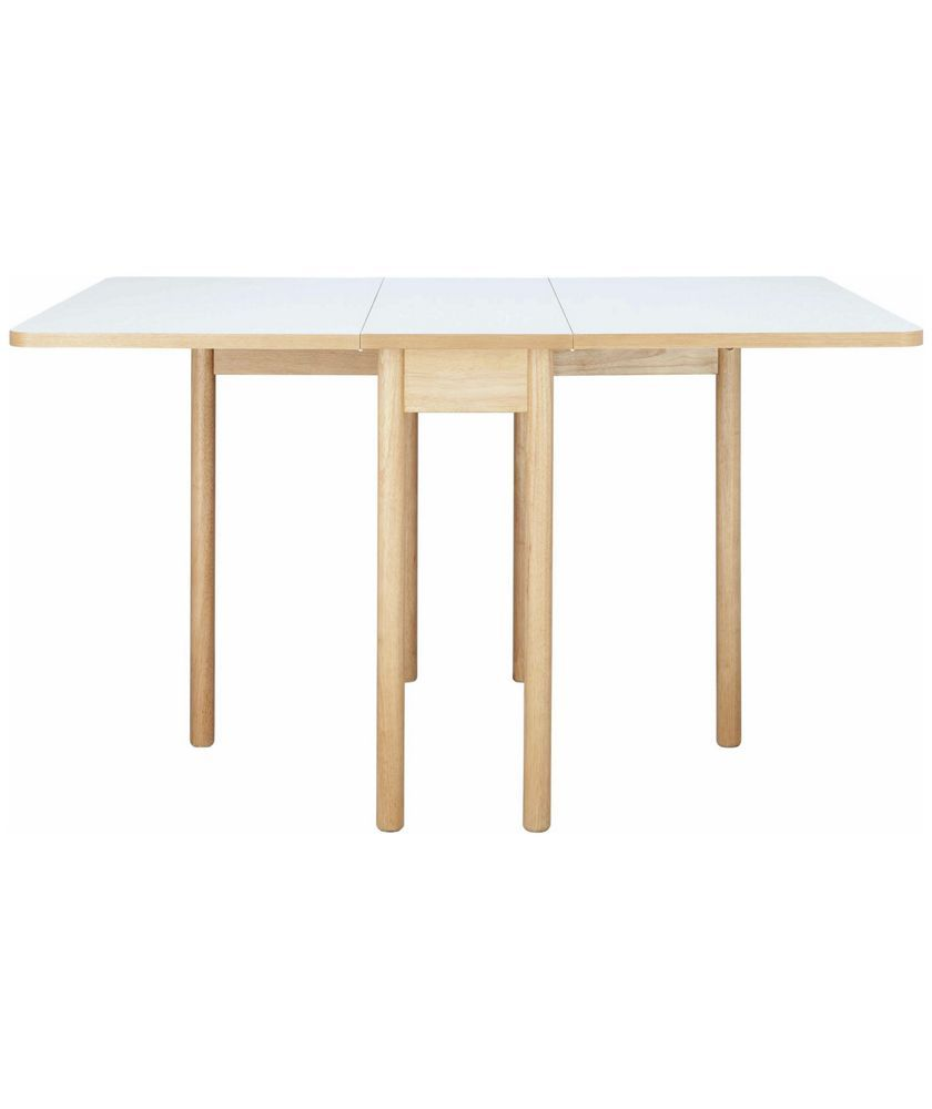 Buy Habitat Suki Rectangular Folding Table White At