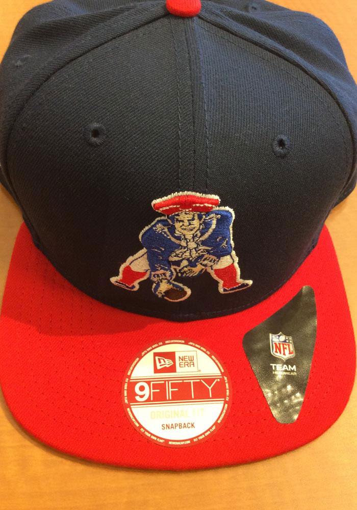 innovative design 36e08 933ee New Era New England Patriots Navy Blue Historic 9FIFTY Mens Snapback Hat -  5905899