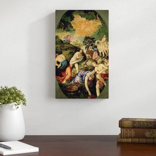 The Purification Of The Midianite Virgins By Tintoretto Art Print