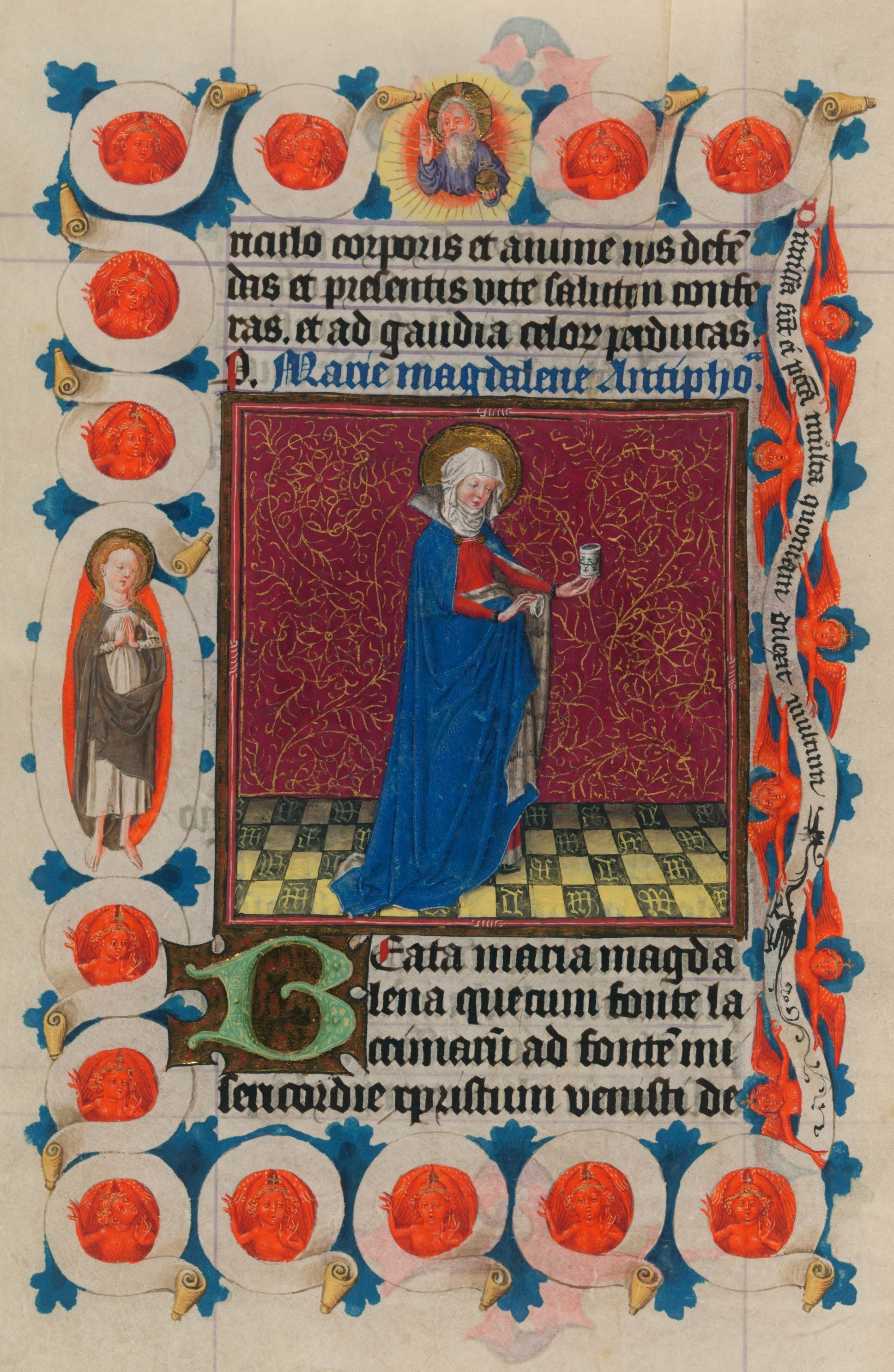 Ms M 917 945 Ff 97v 98r Medieval Art Book Of Hours Ancient Books