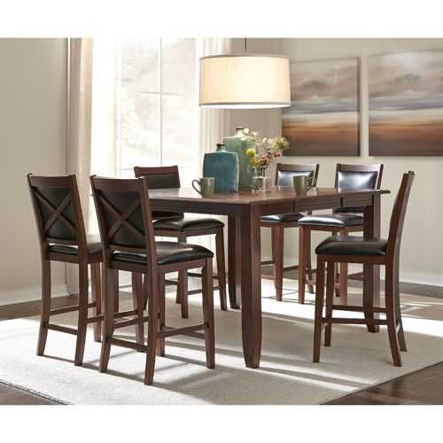 Torence 7 Piece Counter Height Dining Set Counter Height Dining