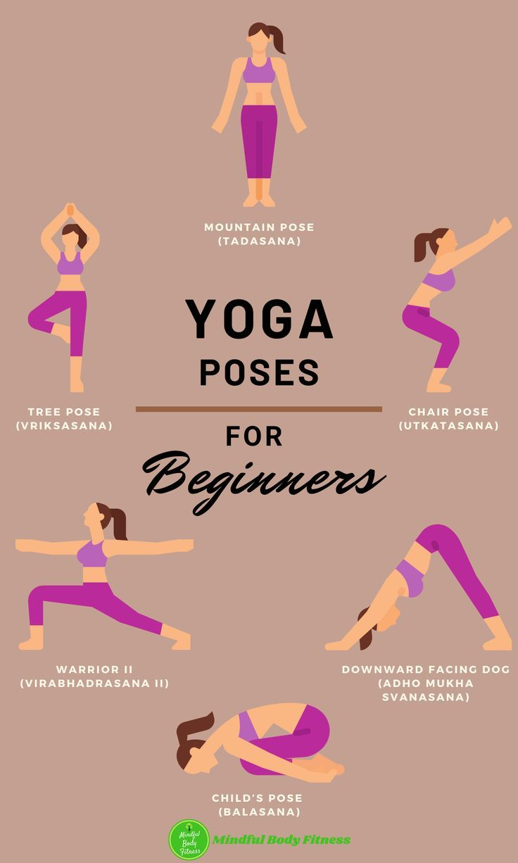 The Best Yoga Poses For Beginners in 38  Yoga poses for
