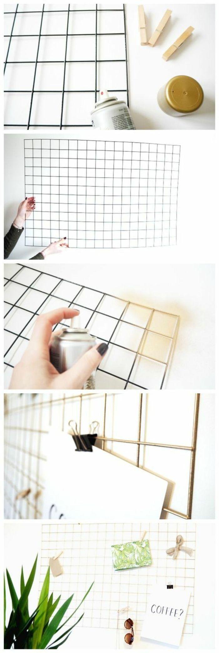 1001 ideen wie sie eine pinnwand selber machen basteln pinterest memoboard selber machen. Black Bedroom Furniture Sets. Home Design Ideas