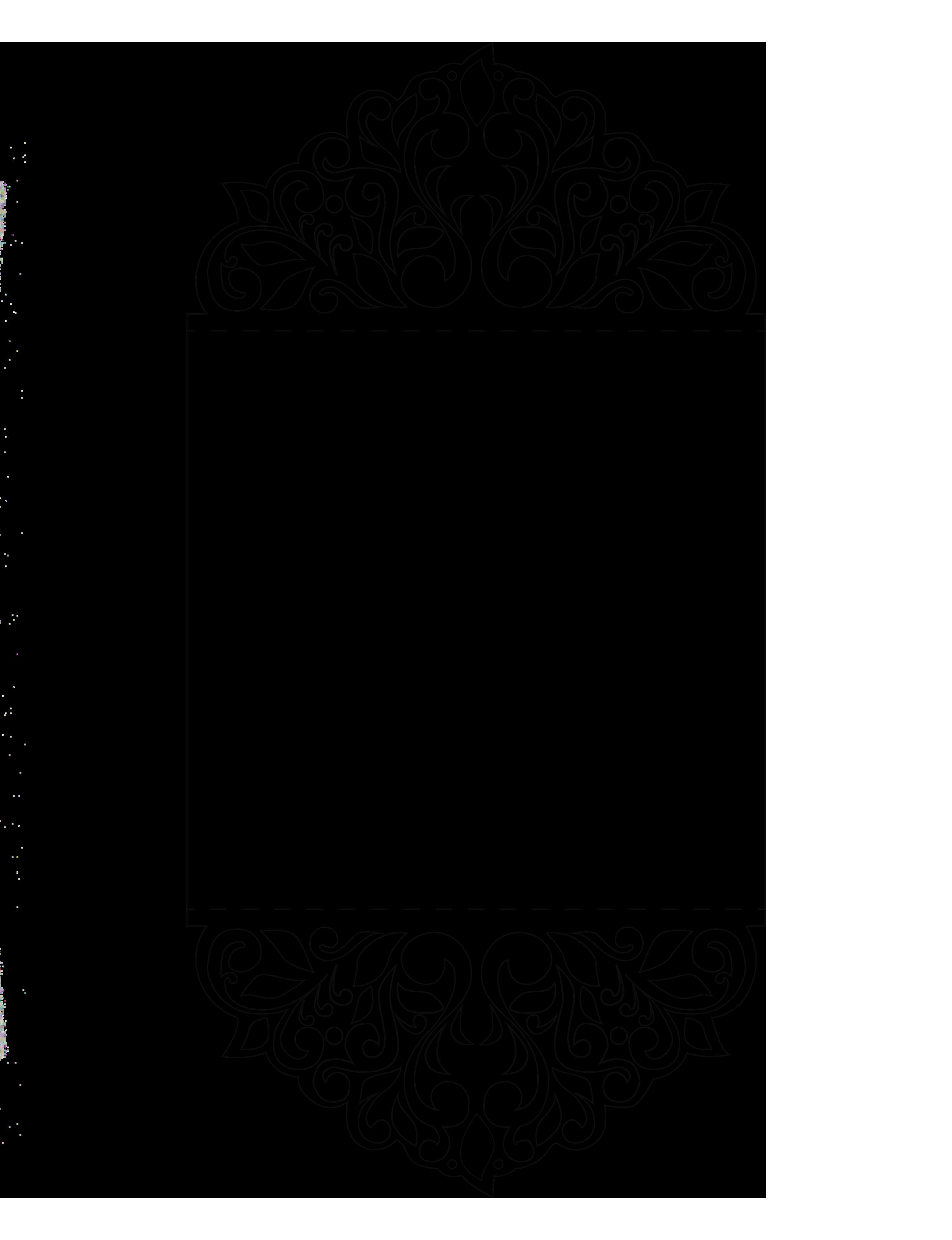 Шаблон для плоттера открытка