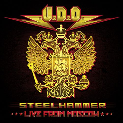 "U.D.O. (official) ; Steelhammer - Live From Moscow"" enters album chart in Germany!  U.D.O., the legendary German Metal band around iconic vocalist Udo Dirkschneider, has entered Germany's official media control album chart on #60 with their new release ""Steelhammer - Live From Moscow"". Congratulations!"