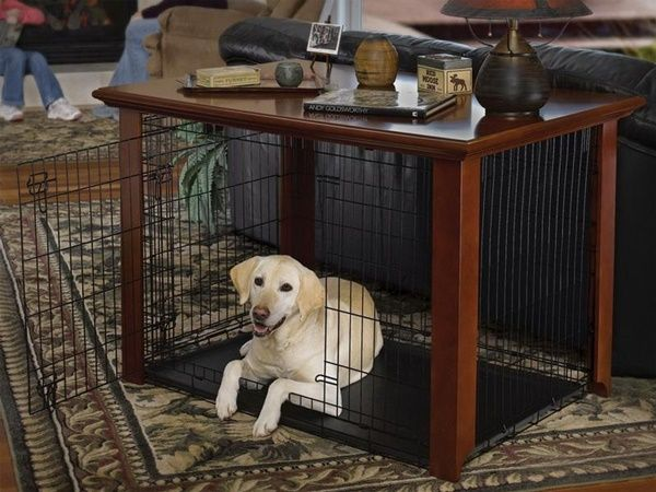 Top 40 Large Dog Crate Ideas In 2021 Dog Crate Table Wood Dog Crate Large Dog Crate Large dog crate end table