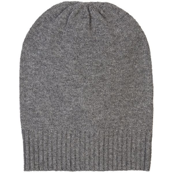 Barneys New York Men's Cashmere Beanie ($80) ❤ liked on Polyvore featuring men's fashion, men's accessories, men's hats, grey, mens hats, mens cashmere beanie, mens beanie caps and mens gray beanie