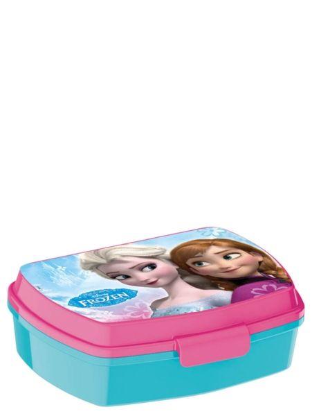 Ihana Frozen-eväsrasia säilöö evääsi kätevästi ja pitää ne tuoreena minne sitten menetkin! Helppo myös lapsen avata ja sulkea. Rasian mitat ovat 13x17x5,5cm. Materiaali: polypropyleeni (ei sisällä BPA:ta)
