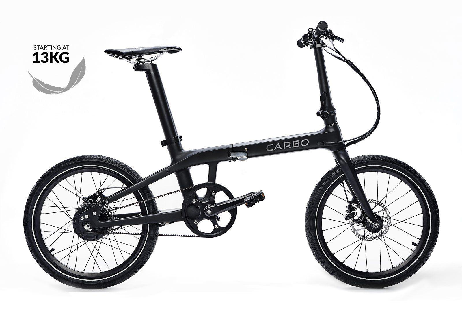 Carbo Electric Bike In 2020 Folding Electric Bike Electric Bike