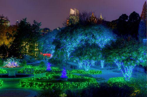 The Atlanta Botanical Garden hosts the magical Garden Lights