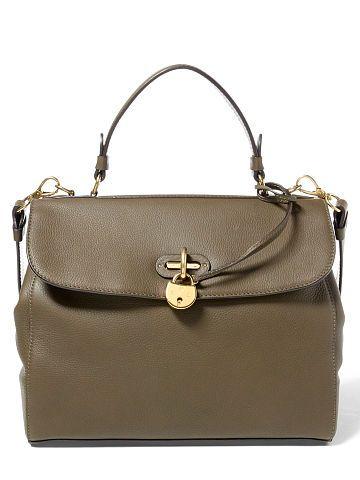 93f2122d52 Ralph Lauren Medium Calfskin Tiffin Bag - Ralph Lauren Handbags - Ralph  Lauren UK