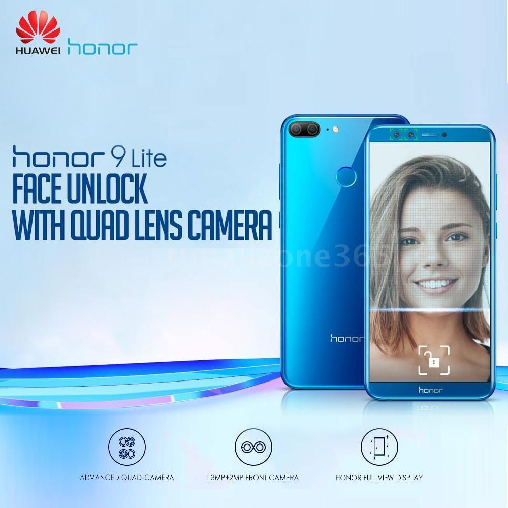 Huawei Honor 9 Lite 4g Smartphone 32gb 64gb 5 65inch Android 8 0 Four Cams B6u6 Phone Accessories Trend Technology Iphone Phone And Accessories In 2019