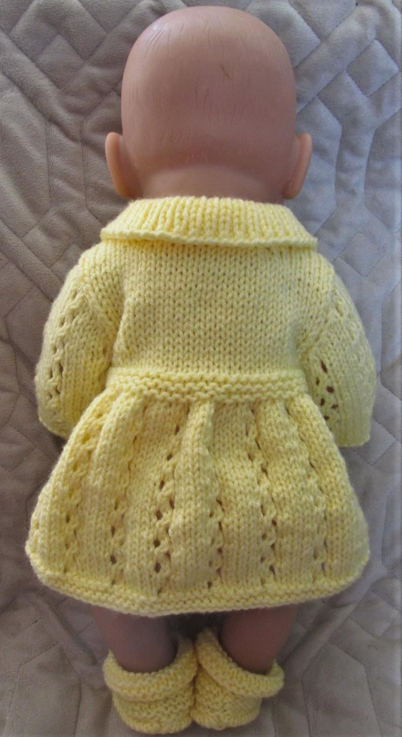 Baby Born Hand Knitted Dolls Clothes | Etsy in 2020 | Knit ...
