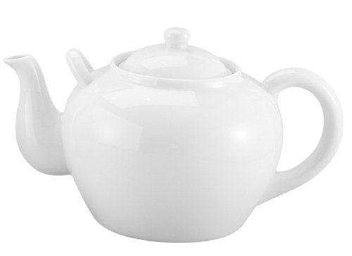 Harold Imports 75 Ounce Capacity Teapot White Harold Imports Http Www Amazon Com Dp B001uc2nd4 Ref Cm Sw R Pi Tea Pots Porcelain Teapot Traditional Teapots