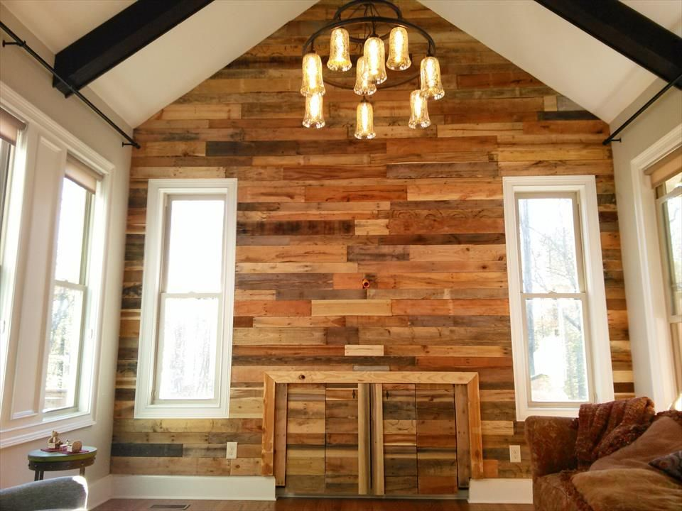 Want to make your room look delicate and classy? Try these new and easy wood  pallet wall ideas by recycling old wood pallets. These wooden pallet walls  look