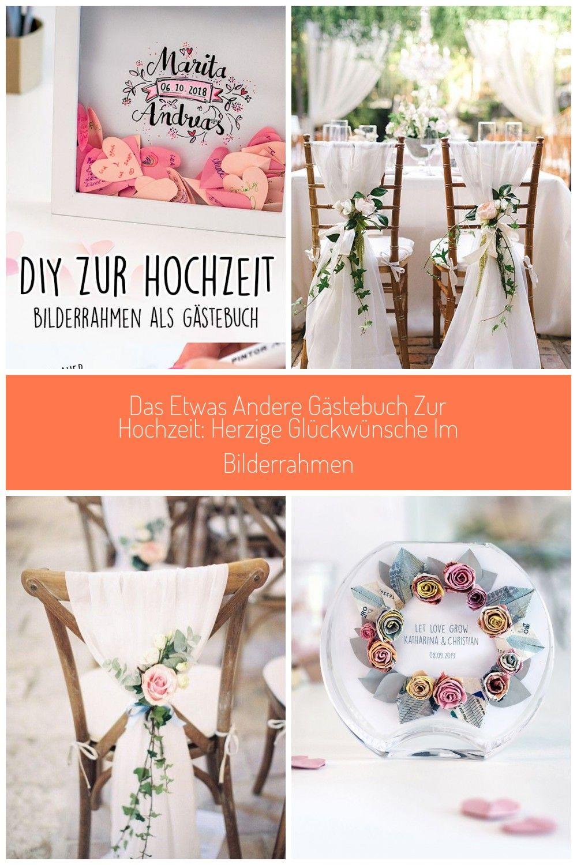 gästebuch hochzeit dekorieren