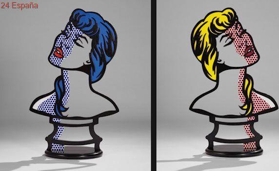 Una de las mejores esculturas de Roy Lichtenstein, a subasta y con posibilidad de batir récords