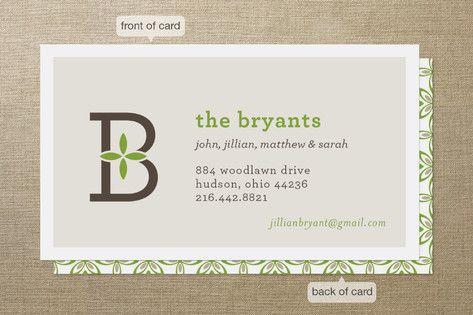 Family monogram business cards by robin ott design at minted family monogram business cards by robin ott design at minted colourmoves