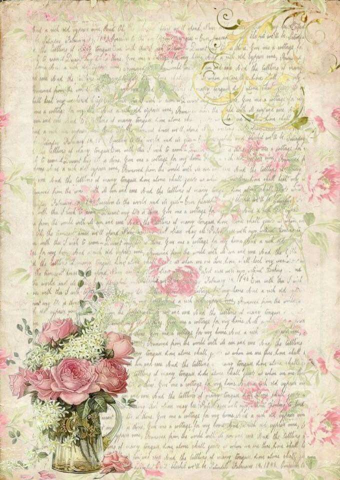 Free Printables Vintage RosesVintage PaperVintage EphemeraPaper BackgroundVintage BackgroundsPink