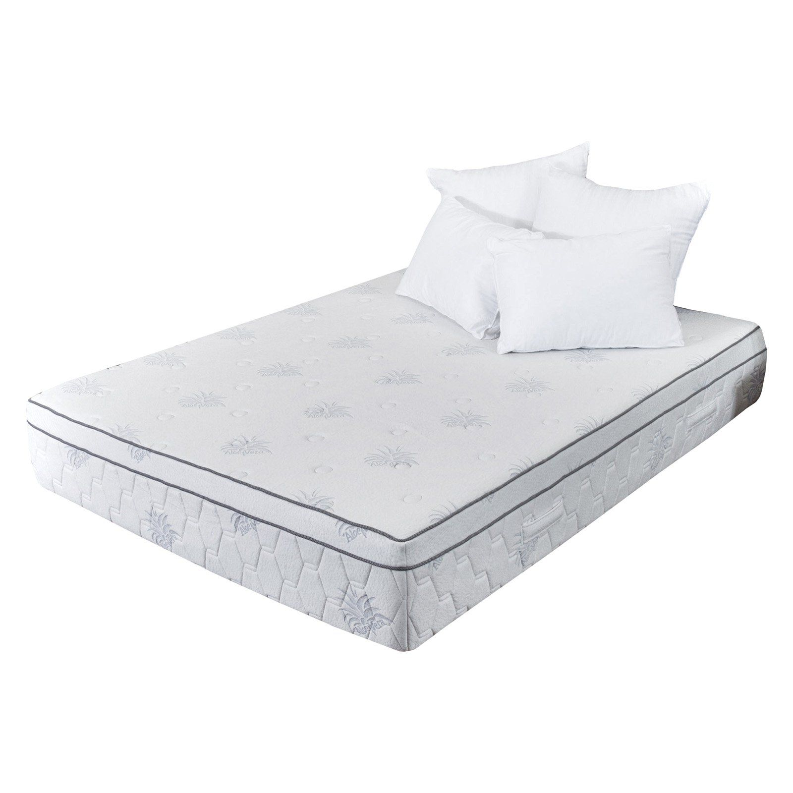 13 In Aloe Gel Memory Foam Mattress Size Queen Mattress