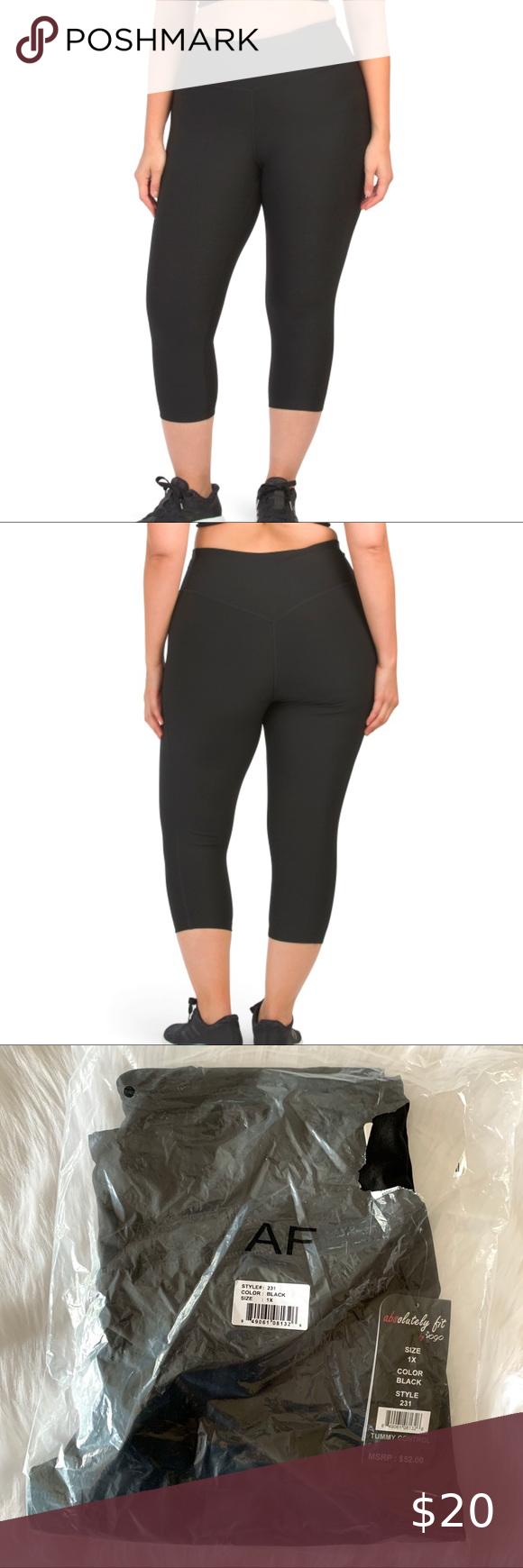 Absolutely Fit / VOGO tummy control capri leggings