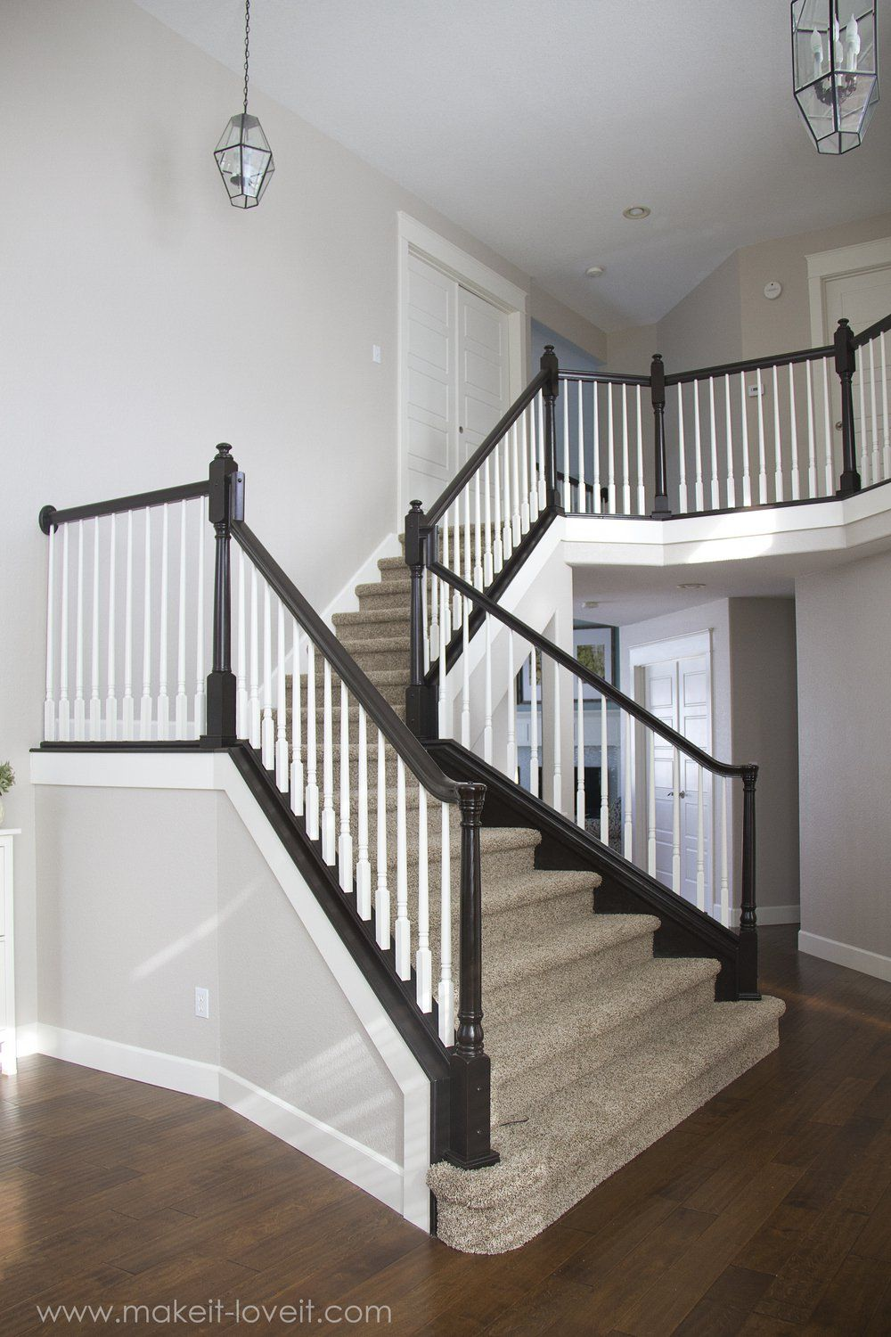Best How To Stain Paint An Oak Banister The Shortcut Method…No 640 x 480