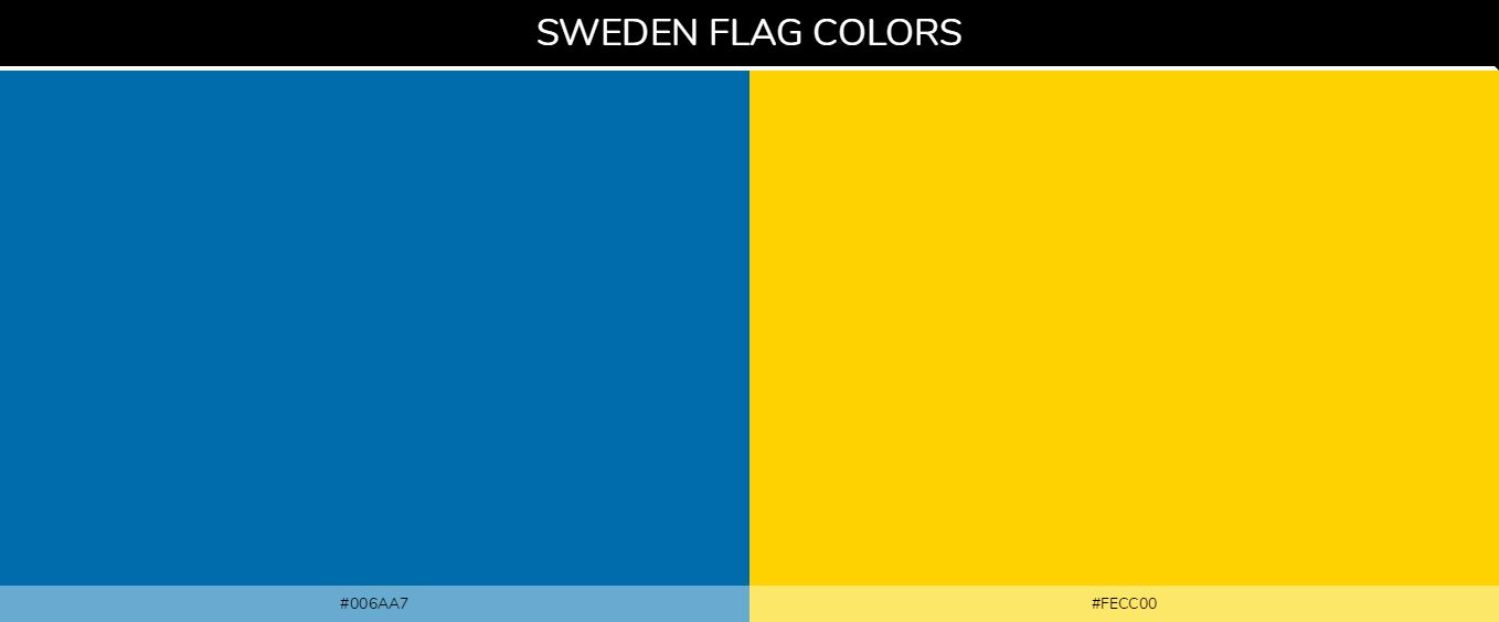 Sweden Flag Coloring Page In 2020 Sweden Flag Flag Coloring