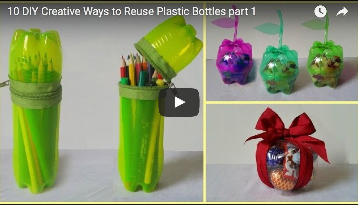 10 tipps was du aus plastikflaschen basteln kannst pinterest plastik recycling. Black Bedroom Furniture Sets. Home Design Ideas