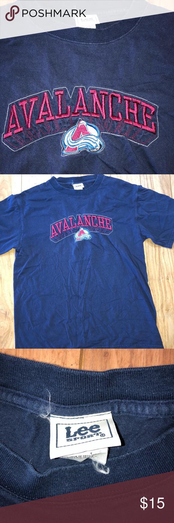 Colorado Avalanche Vintage T Shirt Men s Large NHL  🌎everythingvtg.bigcartel.com🌎 📱 bd860fee1