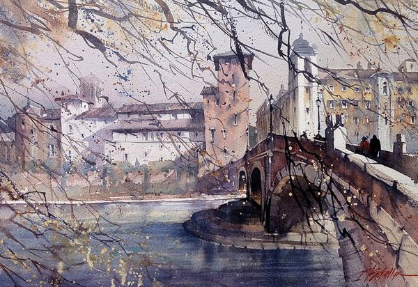 Amazing Watercolor Paintings by Thomas W. Schaller | Watercolors ...